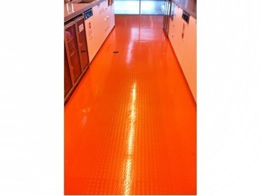 Dalsouple colourful natural rubber flooring for kitchens - Rubber flooring for kitchens and bathrooms ...