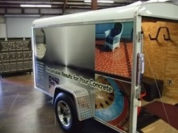 Decorative Concrete Trailer Packages from Global Concrete Solutions