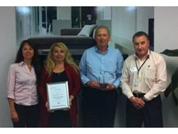 Decorative surface finishes specialist, The Laminex Group, wins CIPS Award