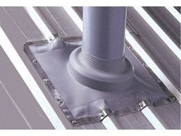Dektite Soaker flashing for all tray roofs from DEKS Industries