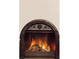 Delta Heat wood burning fireplaces available from Period Details