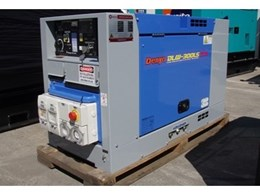 Denyo releases new DLW300LS narrow body diesel welder