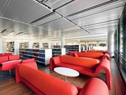 Dexion library shelving solutions for the modern library
