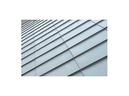 Dexter ribbed cladding system for roofing solutions by VM Zinc Australia