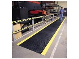 Diamond Runner PVC mats from the General Mat Company