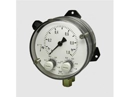 Differential Pressure Gauges with Switch from Alvi Technologies