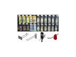Display Hooks for Slatwall and Pegboard from SI Retail