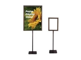 Display stands from National Sign Systems