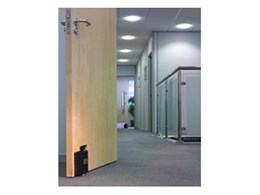 Dorgard acoustic fire door holders available from Trafalgar