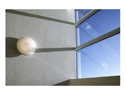 Double glaze commercial PVC windows from PVC Windows
