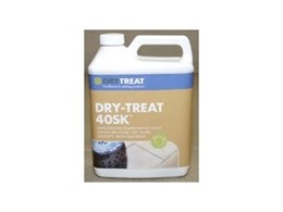 Dry-Treat 40SK invisible impregnating sealers for stone and concrete from Dry-Treat