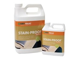 Dry-Treat Stain-Proof sealer found ideal for Victorian tiles