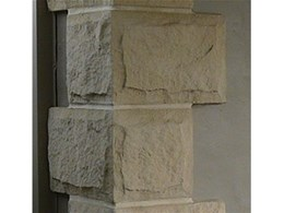 Dry pressed reconstituted sandstone products from Courtyard Architectural Mouldings and Decor