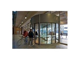 Duotour revolving doors available from Record Automated Doors offer greater flexibility