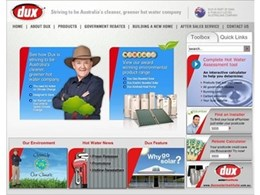 Dux Hot Water Unveils Its New and Improved Website