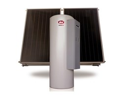 Dux's Sunpro MP15 gas boosted solar water heaters now with new Complete Panel Management