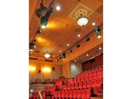 ETC and Vari-Lite lighting solution installed at Canberra's NFSA Theatre