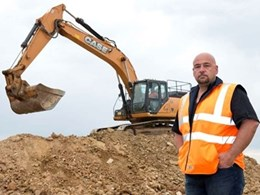 Earthmoving company relies on Case excavator to handle diverse workload