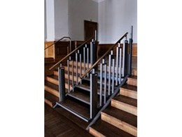 EasyStep low rise platform lift from Easy Living Home Elevators takes accessibility to a new level