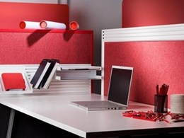 EchoPanel textiles for office partitions from Woven Image
