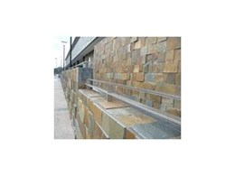 Eco-Stoneclip for securing stone panels available from Stoneclip