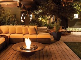 New standalone outdoor fires from EcoSmart Fire for ambience and warmth