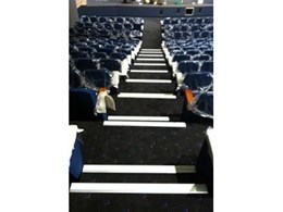 Ecoglo stair treads available from Just Mats keep shining