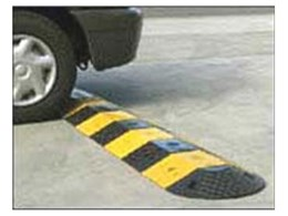 Economy Rubber Speed Humps from Spacepac Industries