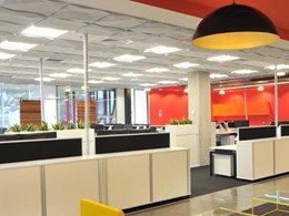 Sound absorbing tiles for suspended ceilings - Ecoustic Ceiling Matrix