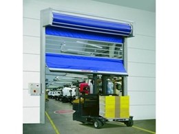 Efaflex STR doors with anti crash system available from DMF International