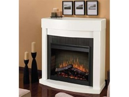 Electraflame Bianca electric fires available from Glen Dimplex Australia