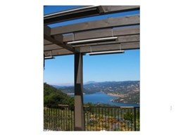 Electric panel heaters from Celmec installed in Napa Valley