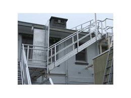 Elevated Safety Systems manufacture durable aluminium stairs, platforms and grating