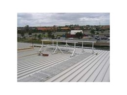 Elevated Safety Systems walkways and handrails