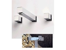Elite Door and Tap Hardware's cubic shaped tapware