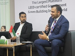 Flowcrete participates in discussion on low VOC materials at Emirates GBC