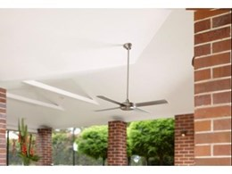 Energy efficient ceiling fans from Hunter Pacific