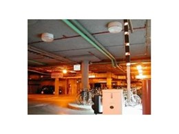Enviro Acoustics Thermospray 800 insulation for car park
