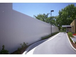 Envorinex noise abatement barriers made from recyclable uPVC