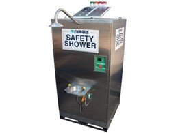 Enware introduces solar safety shower and eyewash for remote locations