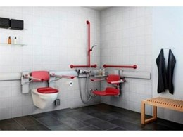 Enware's new flexible bathroom range caters to disabled and elderly