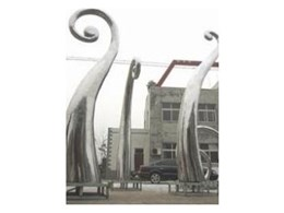 Estate entrance sculptural features by WOWFactors.BIZ