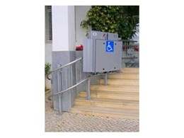 Eurostar inclined platform lifts available from Master Lifts