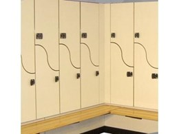 Evolve range of lockers available from Excel Lockers