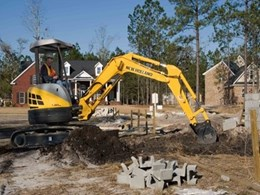 Extended warranty program available with E-Series mini excavators from CASE Construction Equipment