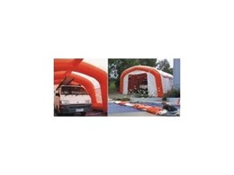 EzY Shelter EzS6545 inflatable frame portable shelters from Giant Inflatables