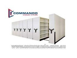 Ezi-Glide Commercial Mobile Shelving from Commando Storage Systems