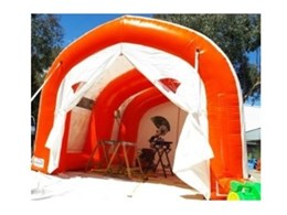 Ezy Shelter Range from 1300 Inflate