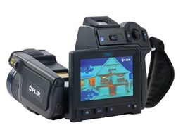 FLIR thermal cameras used for exterior wall inspections in Japan
