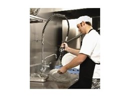 FS729 Ultra Rinse food service gun available from Enware Australia